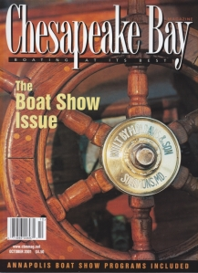 Chesapeake Bay Magazine Oct. 2001 cover photo by Jim Tadder